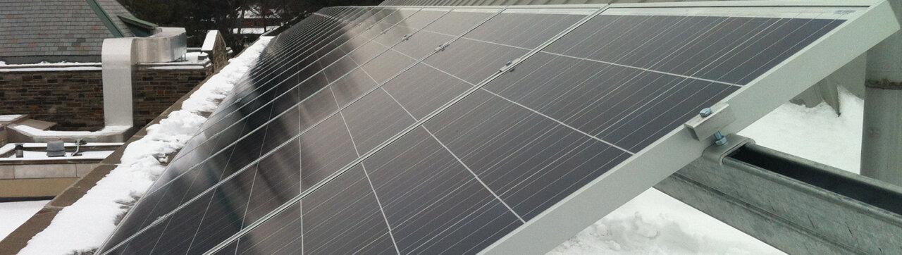 duurzaam wonen met zonnepanelen